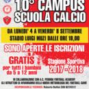 10° CAMPUS SCUOLA CALCIO ORVIETANA