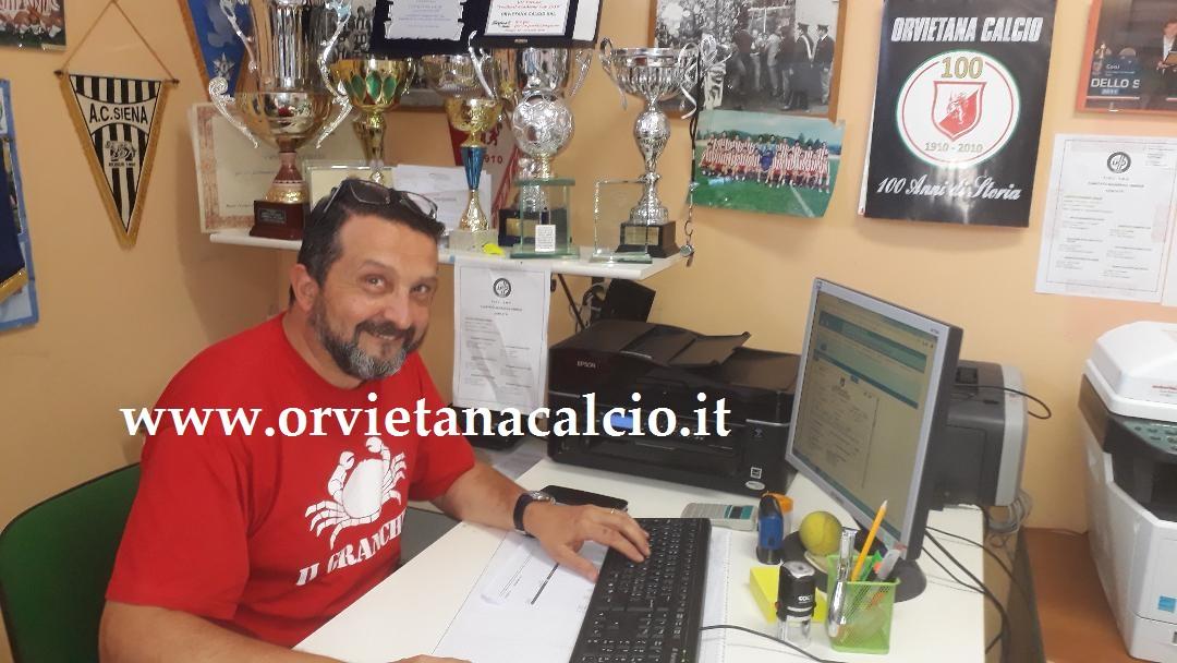 Il nuovo segretario Politella formalizza l'iscrizione dell'Orvietana ai campionati 2019/20